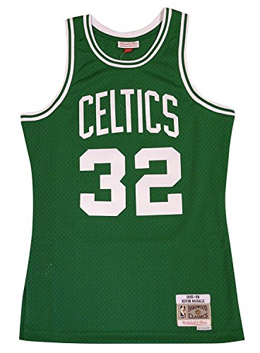 - Mitchell & Ness Boston Celtics Kevin McHale Swingman Jersey NBA Throwback Green (Medium)