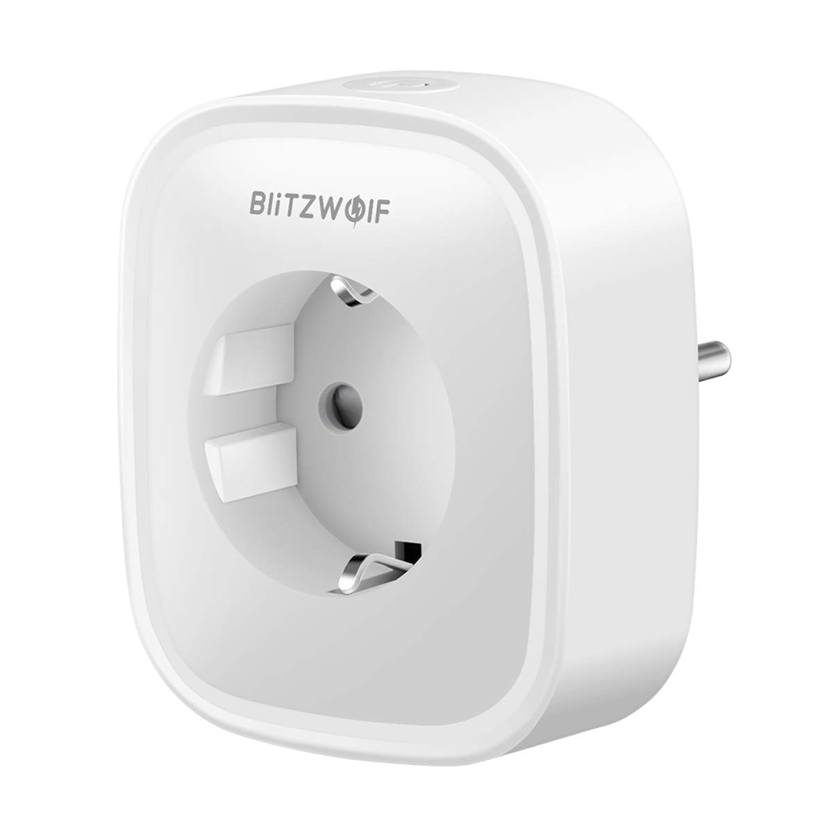 Enchufe Inteligente WiFi, Enchufe WiFi Smart Plug Funciona con Amazon Alexa Control por Voz,