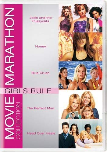 (Movie Marathon Collection: Girls Rule (Josie and the Pussycats / Honey / Blue Crush / The Perfect Man / Head Over Heals))