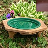 Looker Bb08 Mini Garden Outdoor Bird Bath - Clay