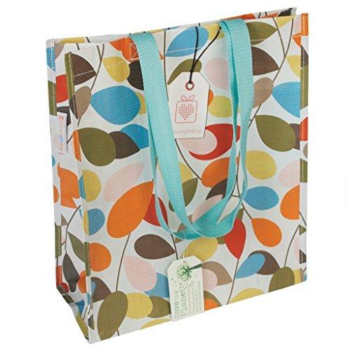 oeyfiea reutilizable bolso, diseño de flores, bolsa ...