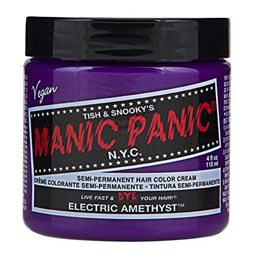 Electric Amethyst Purple Manic Panic 4 Oz Hair Dye by MyPartyShirt