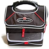 Igloo 9-Can Playmate Gripper Cooler, Black/Red Igloo