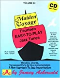img - for Vol. 54, Maiden Voyage: Fourteen Easy-To-Play Jazz Tunes (Book & CD Set) book / textbook / text book