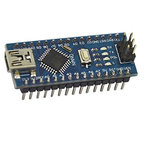 Price comparison product image Sukragraha Mini USB Nano V3.0 ATMEGA328P Module 5V 16MHz Micro-controller board for Arduino Genuino System