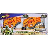 NERF DOOMLANDS 2169 Persuader Blaster 2 Pack with 8 x Elite Darts