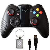 Gam3Gear iPega PG-9067 Dark Knight Wireless Bluetooth Controller for Samsung Huawei Android TV Box PC with Keychain