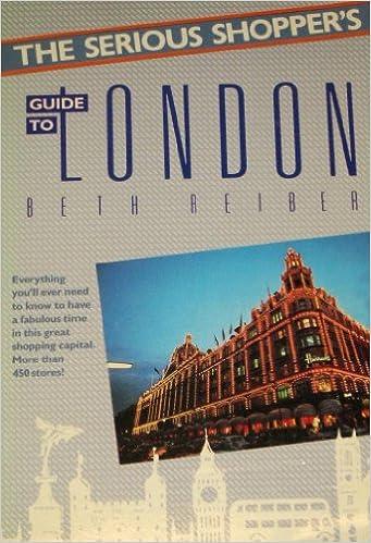 Tekstikirja nova The Serious Shopper's Guide to London (The Serious Shopper's Series) PDF CHM 0138068526
