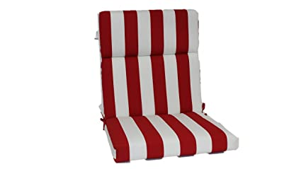 Brentwood Originals 35590 Indoor/Outdoor Chair Cushion, Cabana Red