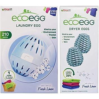 Ecoegg 210 Laundry & Dryer Egg Bundle Fresh Linen