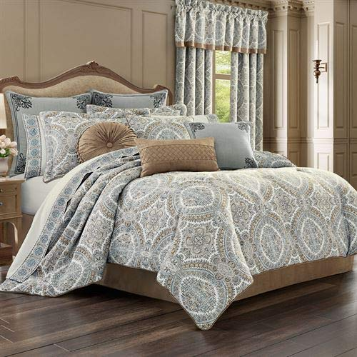 (J Queen New York, Inc. Sorrento Comforter Set Blue)