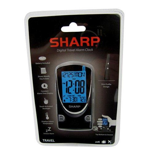 Sharp Digital Travel Alarm Clock