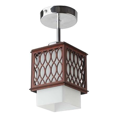 modern designer lighting. LeArc Designer Lighting Modern CL416 Semi Flush Ceiling Light, Brown