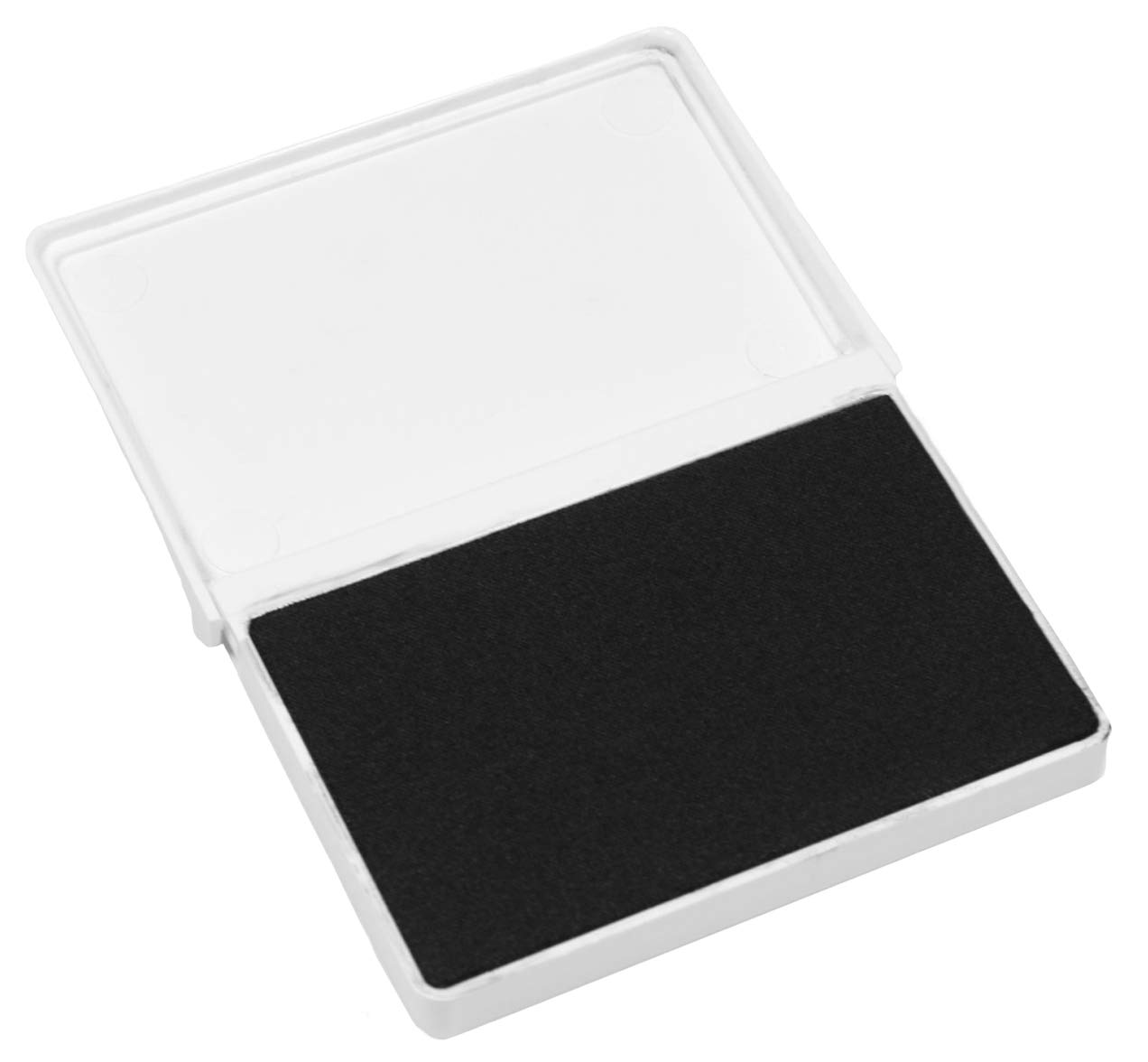 ExcelMark Ink Pad for Rubber Stamps 2-1/8'' by 3-1/4'' (Black Ink) - 2 Pack by ExcelMark