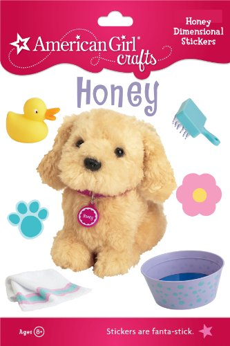 American Girl Crafts Stacked Stickers, Honey