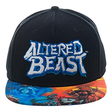 7289ec79 Sega Genesis Altered Beast Sublimated Bill Snapback