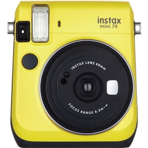 Fujifilm Instax Mini 70 Instant Film Camera Yellow MINI 70 YELLOW