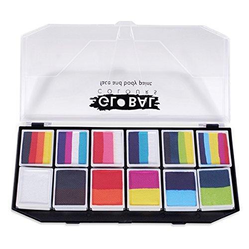 Global BodyArt - Carnival Face Painting Kit by Global Colours BodyArt