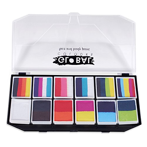 Global BodyArt - Carnival Face Painting Kit