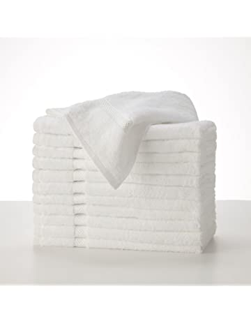 Toallas de baño para SPA HOTEL, 500 gr / m² PUR algodón egipcio blanco,