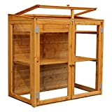 WALTONS EST. 1878 4x2 Wooden Mini Garden Greenhouse Windows, Double Door, Styrene T&G, Pent Roof, 4ft 2ft, Free 3-5 Day Delivery + 10 Year Guarantee From Waltons