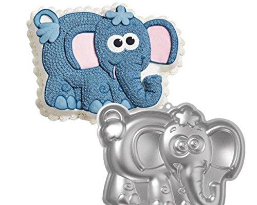 nalmatoionme Cookie molde para tartas forma de elefante aluminio: Amazon.es: Hogar