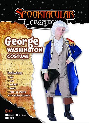 Thomas jefferson costume kids small