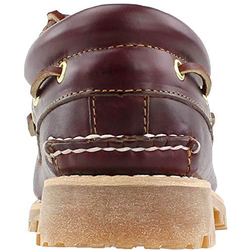 Classic Uomo Burgundy Authentics Scarpe 3 Eye Timberland da Barca qt4aOxw