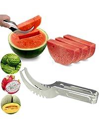 Access 1 Piece Watermelon cutter knife Cucumis melon Cutter Chopper Fruit Salad Cucumber Vegetable fruit slicers Kitchen... cheapest
