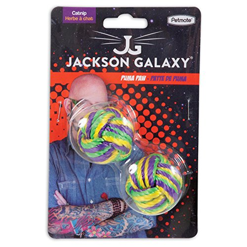 Petmate jackson galaxy puma paw with catnip ball import for Jackson galaxy pet toys