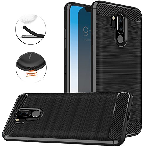 LG G7 ThinQ Case, LG G7 Case, Dretal Carbon Fiber...