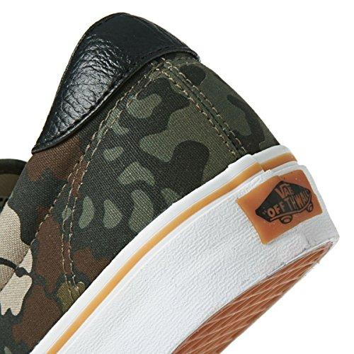 Vans ERA - zapatilla deportiva de piel unisex Verde