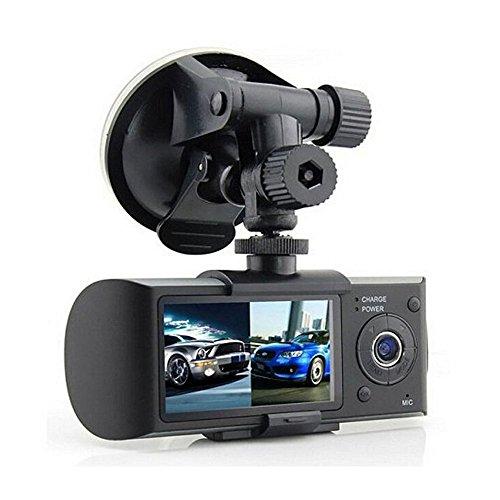 Eaglerich Dual Camera Car DVR R300 with GPS and 3D G-Sensor 2.7