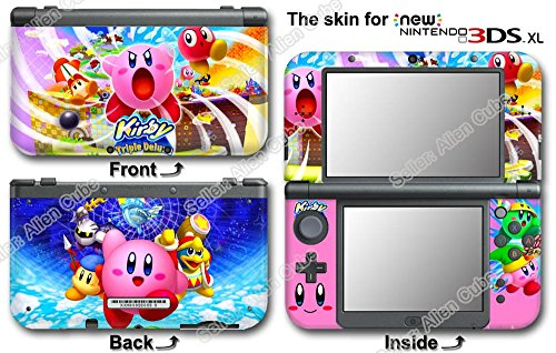 Kirby Amazing New Skin Sticker Cover Decal for NEW Ninten...