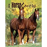 Horse Lovers 2018 6 x 7.75 Inch Weekly Engagement Calendar, Animals Horses Equestrian (Multilingual Edition)