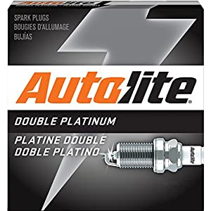 Autolite APP104 Double Platinum Spark Plug, Pack of 1