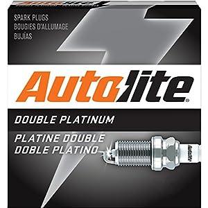Autolite APP104 Double Platinum Spark Plug, Pack of 1