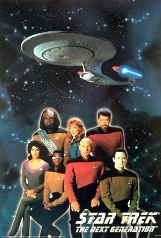 Star Trek - Enterprise - The Next Generation Crew Poster -