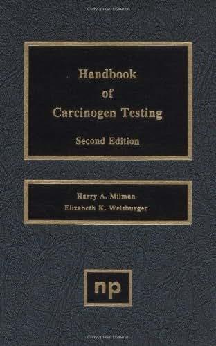 Handbook of Carcinogen Testing