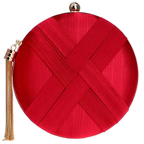 embrayages Handbag rouge Zanpa mode 2 femmes qHtH76xE