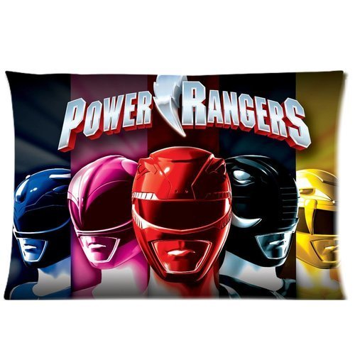 Custom Power Rangers Pattern 17 Pillowcase Cushion Cover Design Standard Size 20X30 Two Sides by MOGUI - Power Ranger Queen Bedding