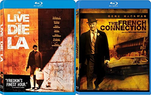 The French Connection & To Live and Die in L.A. [Blu-ray] 2 Pack Crime Movie Set