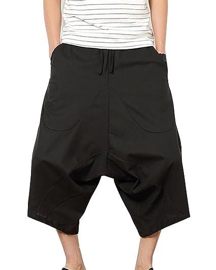 Pantalones Anchos Hombre Pantalones Cortos Bermudas Pantalones ...