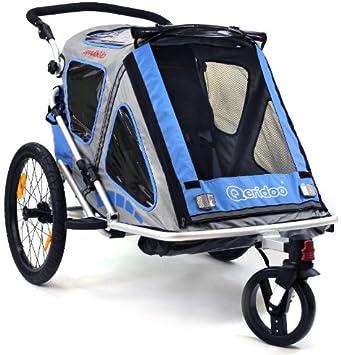 Qeridoo - Remolque para bicicletas: Amazon.es: Deportes y aire libre