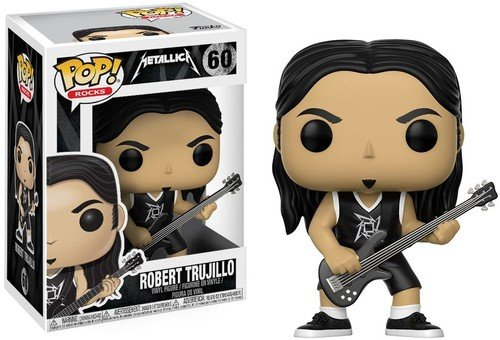 Funko Pop! - Figura Robert Trujillo, coleccion Metallica 13809