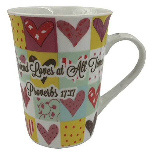 Gift Mug A Friend Loves At All Times Proverbs 17:17 – 8 OZ – One Piece