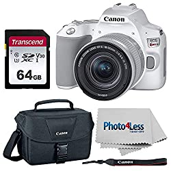 Image of the product Canon EOS Rebel SL3 that is listed on the catalogue brand of PHOTO4LESS.