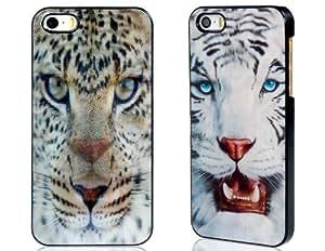Tiger 3D Case Imprimir plástico para el iPhone 5S / 5