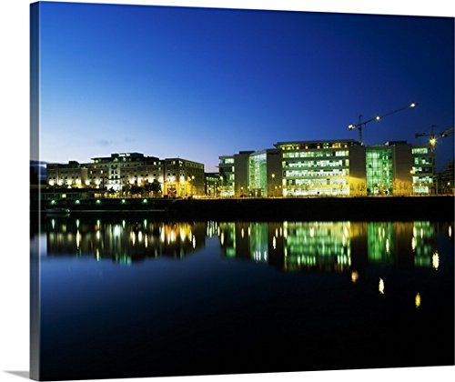 jurys-hotel-and-citigroup-buildings-dublin-co-dublin-ireland-gallery-wrapped-canvas
