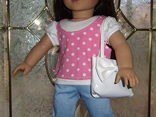 """OOAK 18"""" doll 5 piece outfit, will fit American Girl and other 18"""" dolls"""